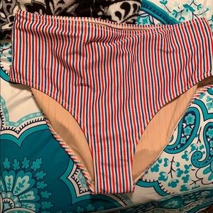 Old navy high waisted swim bottoms